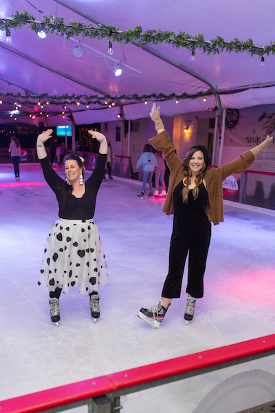 ice skating at park tavern rink
