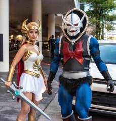 DragonCon2019 She-Ra Hordak cosplay
