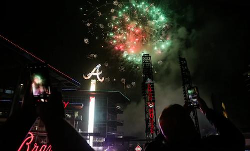 New Year's Eve at The Battery Atlanta