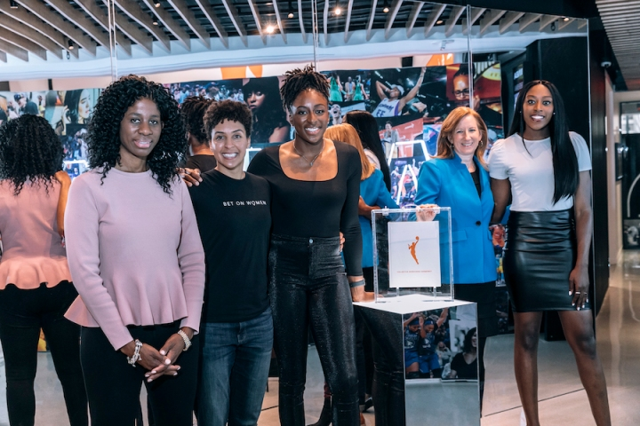 WNBA new CBA group shot