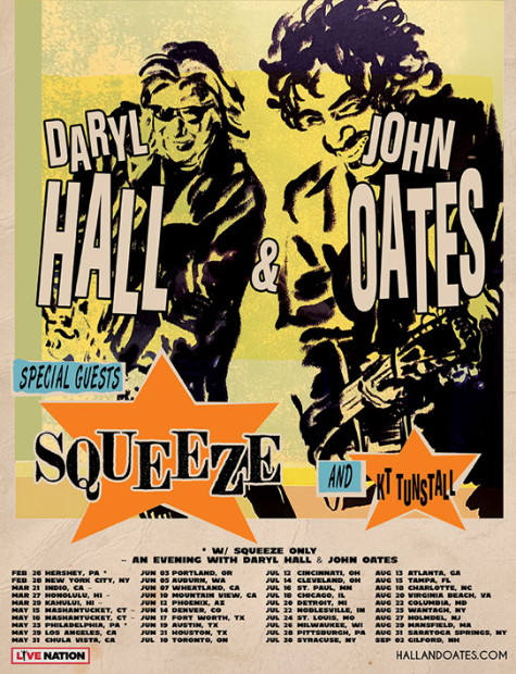 Hall & Oates tour